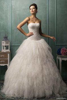 AmeliaSposa Wedding Dresses 2014 Collection.