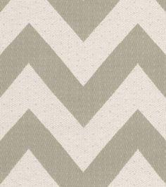 Home Decor 8''x 8''Swatch Upholstery-HGTV HOME Chevron Chic Quartz | Joann Fabrics