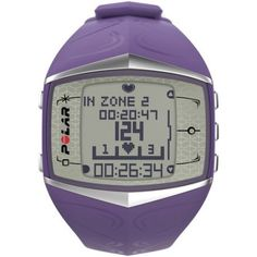Polar FT60 Heart Rate Monitor 90051006 Calories Counter, Lilac >>> Click image to review more details.