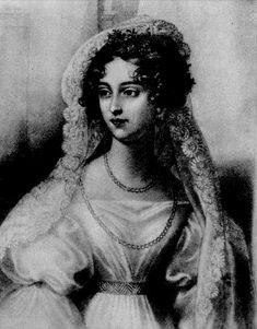 Natalia księżna Sanguszko, matka Marii Klementyny z ks. Sanguszków Alfredowej Potockiej.