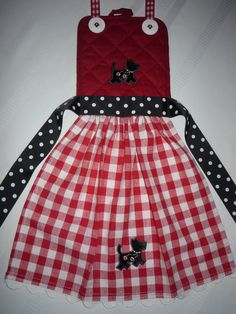 Lovers of Scottie Dogs child's apron