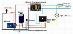 ESP8266 - $5 internet connected switch