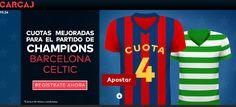 el forero jrvm y todos los bonos de deportes: carcaj cuota mejorada bienvenida Barcelona vs Celt...
