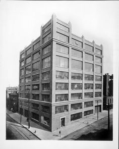 The first Watchtower factory building - 117 Adams St., Brooklyn, NY