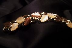 Vintage Brown and Cream Thermoset Leaf by JewelsAndMyGirls3, $15.00