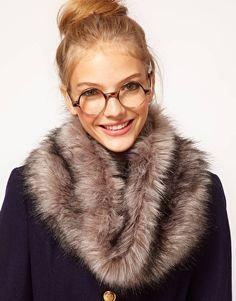 ASOS Faux Fur Snood...not sure if i'd wear this though. kinda sad :( poor animal