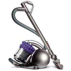 Ready to pick up any mess that stands in its way, the Dyson Cinetic Big Ball Animal canister vacuum features high frequency oscillating tips that picks up microscopic dust that clogs other vacuums.