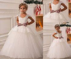 appliques-ceinture-Robe-de-communion-fille-mariage-robe-demoiselle-d-honneur
