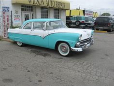 1955 Ford - This classic car was repaired and renovated by Wilson Auto Repair in Texas.