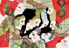 Mujeres al borde - Autor: María Elena Di Tullio