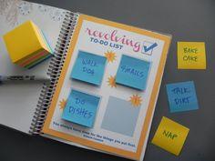 Revolving To-Do List Insert \\ INSTANT DOWNLOAD \\ For your Erin Condren Planner \\ Can be used for Plum Paper Planner, Kikki K, Filofax