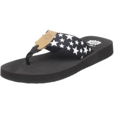 Yellow Box Women`s July Flip Flop,Black, these would be even cuter in blue or red!!