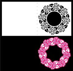 Rose Frame Card