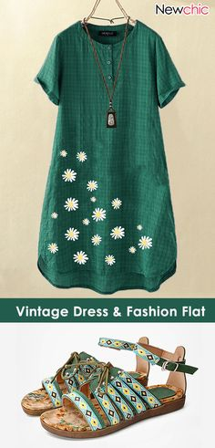 Vintage Dress & Fashion Flat & Dress Outfits for Simple Dresses, Casual Dresses, Casual Outfits, Fashion Flats, Women's Fashion Dresses, Black Women Fashion, Womens Fashion, Fashion Art, Diy Clothes