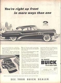 53 Buick Riviera 2 Door Page LIFE October 12 1953