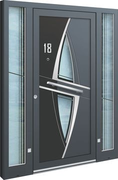 Unsere Alu-Haustüren zu günstigen Preisen mit herausragender Qualität im Abverkauf oder neu nach Maß in unserem Schauraum in Pasching-Wagram.