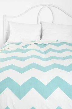 "King size Chevron ""Zigzag Duvet Cover"" for reading nook? $99"