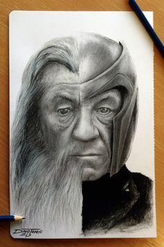 Brillante Crossover de Ian McKellen protagonista de El Hobbit / Gandalf y 'X-Men' / Magneto | ElBlogDeAlex