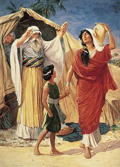 Abraham sends Hagar away