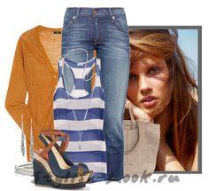 Морской топ – стиль города | С чем носить, как подобрать и сочетать Stylish-Look.ru