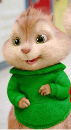 My favorite chipmunk!