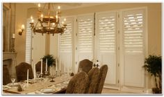 Control heat, noise, and your level of privacy with attractive and functional window shutters. Peach Building Products' window shutters in Utah give your home a cleaner, brighter look. Interior, Interior Barn Doors, Best Interior Paint, Interior Shutters, Affordable Interiors, Home Decor, Interior Design School, Interior Window Shutters, French Doors Interior