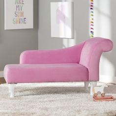 Princess Chaise Lounge Projects To Try Pinterest Girls Bedroom