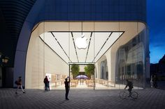 Apple's Beautiful New Store in Brussels Opens to Long Lines and Fanfare