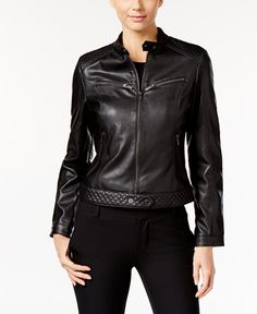 99.99$  Watch here - http://vijyp.justgood.pw/vig/item.php?t=6ohw5a922392 - Faux-Leather Moto Jacket 99.99$