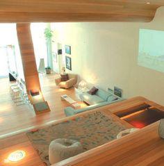 Casa Foa - apartment, interior designed and made in Wales Apartment Interior, Attic, Wales, Apartments, Heart, Furniture, Design, Home Decor, Loft Room
