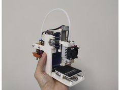 mini one ——smallest pocket pirnter in the world by MG-dream-technology - Thingiverse Small 3d Printer, Learn Robotics, Cnc Router Machine, Electronic Circuit Projects, 3d Printer Designs, 3d Cnc, Mini One, 3d Prints, Hacks Diy