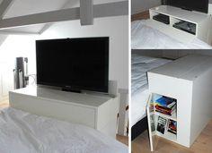Bed Tv Meubel : Best tv lift images hide tv tv cabinets bed room
