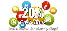 I am absolutely sure that you would love earning the 20% cash back on your everyday purchases! So why not see what this is all about. Visit the website today to find out more.