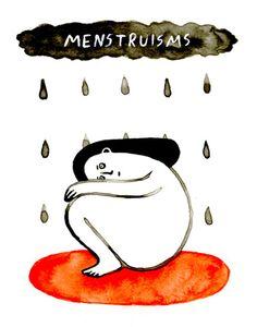 Ilustracoes hilariantes metaforizam abertamente o estigma da menstruacao 5