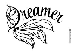 Dream Catcher Vinyl Car Wall Window Computer Tablet Ipad Decal Sticker Computer Tablet by rockpaperscissors24 on Etsy
