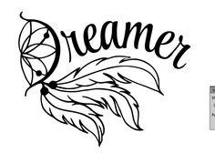 Dream Catcher Decal Sticker For Car, Laptop, Wall, Window, Computer, Tablet…