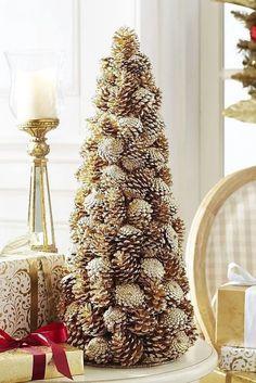 New Diy Christmas Tree Decorations Ideas Pine Cones Ideas Easy Christmas Crafts, Simple Christmas, Christmas Ornaments, Rudolph Christmas, Christmas Crafts With Pinecones, Vintage Christmas, Pinecone Crafts Kids, Pinecone Ornaments, Summer Crafts