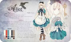 Alice Reference by Riniuu on deviantART