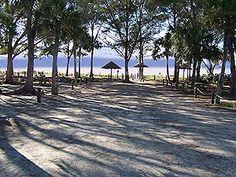 Favorite Beach Campground....Turtle beach, Siesta Key, FL