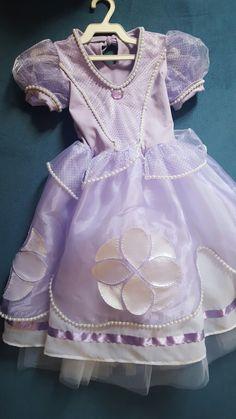 Vestido da Princesa Sofia                                                                                                                                                                                 Mais