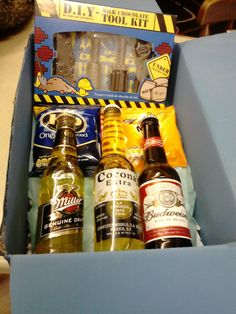 mens raffle prize - beers and munchies