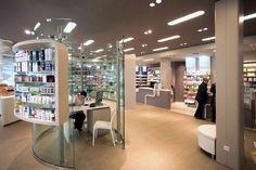 211603H10-2 Showroom Design, Shop Interior Design, Store Design, Interior Decorating, Pharmacy Store, Drug Store, Barbershop Design, Cosmetic Shop, Shop Fittings