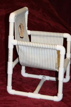 Child's PVC Pipe Chair Pattern | YouCanMakeThis.com
