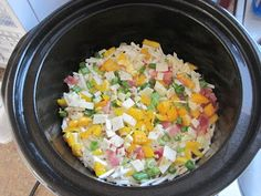 Stepping Forward in my Ruby Red Slippers: Healthy Slow Cooker Breakfast Casserole