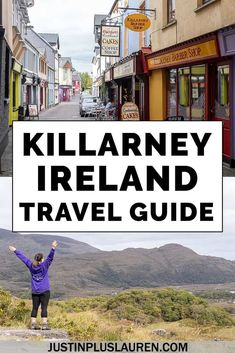 The Best Things to Do in Killarney Ireland: What You Need to See and Do in This Beautiful Town - There are so many fun things to do in Killarney Ireland! Here's the ultimate travel guide for Kil - Ireland Travel Guide, Europe Travel Guide, Europe Destinations, Travel Guides, Europe Places, Budget Travel, New Travel, Ultimate Travel, Paris Travel
