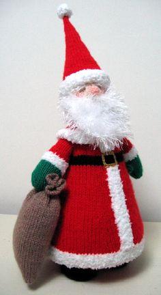 Santa Claus, Knitting Pattern £2.50