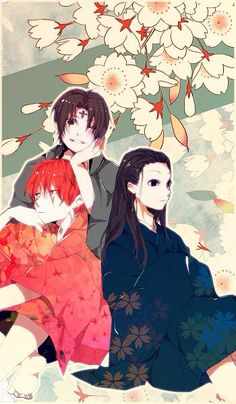 Hisoka, Chrollo, and Illumi    ~Hunter X Hunter