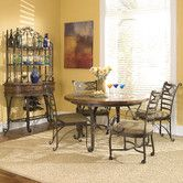 Found it at Wayfair - Stone Forge 5 Piece Dining Set