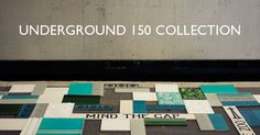 A little bit of the London Underground in your own home with the Underground 150 collection from Fired Earth. Luxury Cushions, Fired Earth, Metro Tiles, Victorian Terrace, London Underground, Wall And Floor Tiles, Tile Design, Bathroom Inspiration, Own Home
