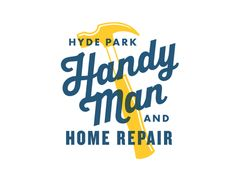 """I like how the emphasis is on """"handy man"""" in this image. Hopefully any text will really emphasize that part of the service."""